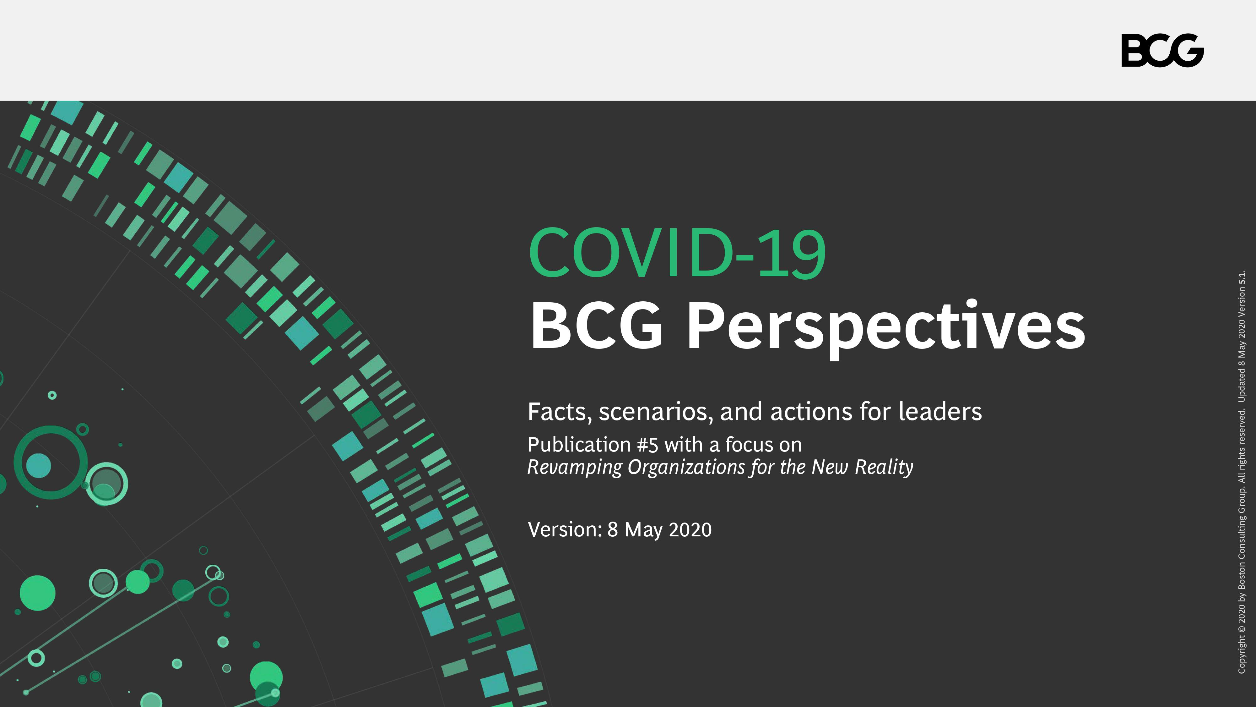 BCG COVID-19 BCG Perspectives