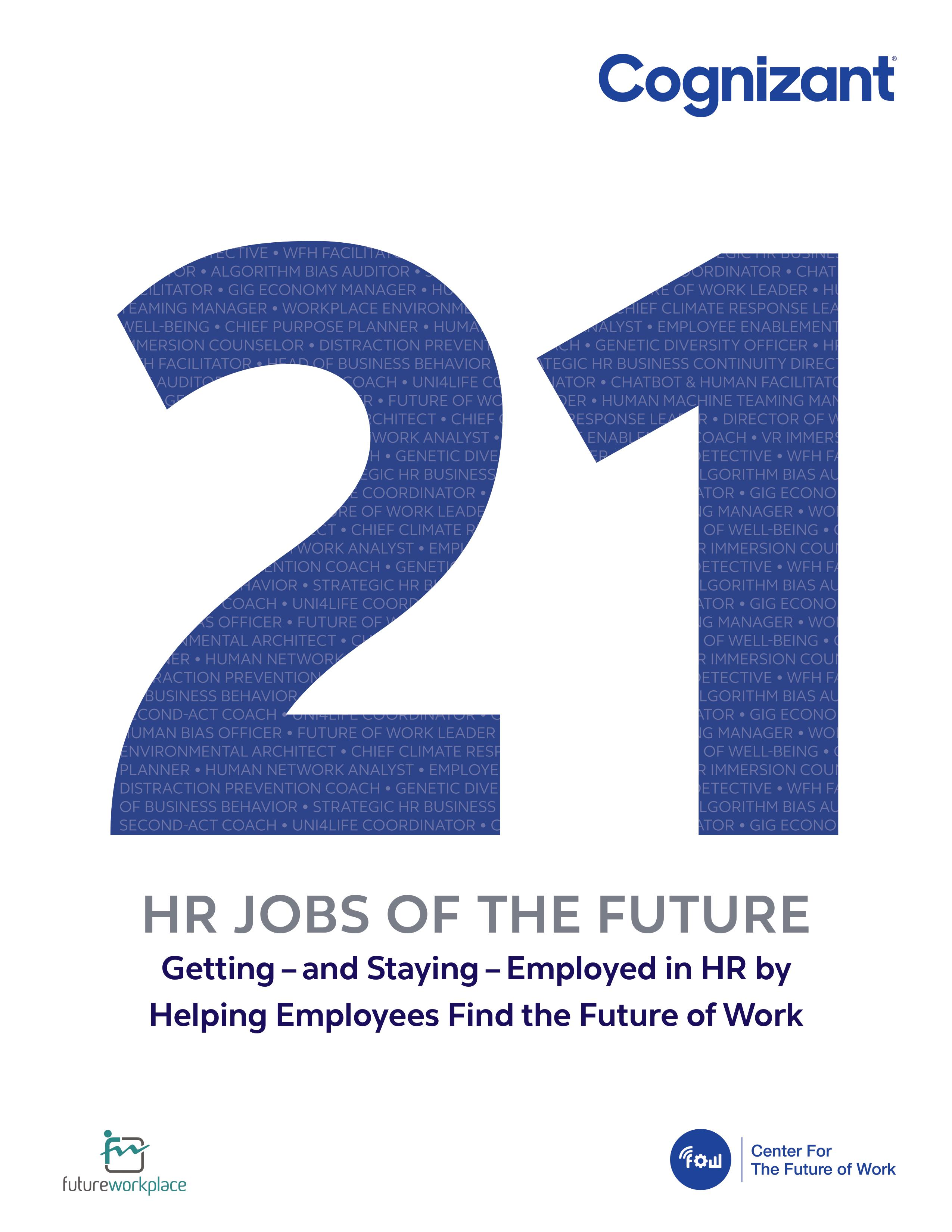 21 HR Jobs of the Future